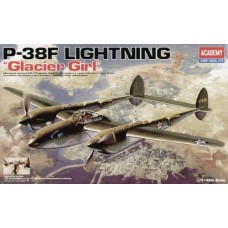 "P-38F Lightning  ""GLACIER GIRL"""