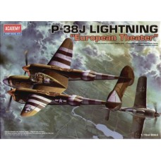 "P-38 J LIGHTNING ""EUROPEAN THEATRE"" 1/72"