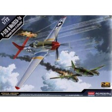 P-51D TUSKEGEE & ME262A-1a SET 1/72