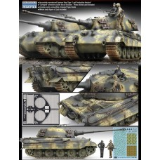 "KINGTIGER ""LAST PRODUCTION"" 1/35"