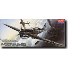 P-40 WARHAVK M/N 1/72