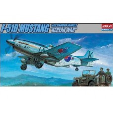 P-51D MUSTANG KOREAN WAR 1/72