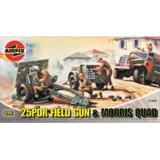 25 pdr Field Gun 1/76