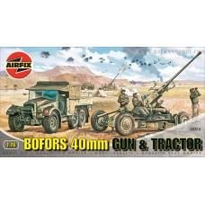 Bofors Gun & Tractor 1/76