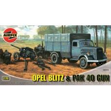 Opel Blitz&Pak 40 Gun 1/76