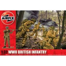 WWII British infantry 1/32