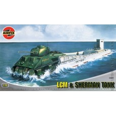 LCM&Sherman Tank 1/76