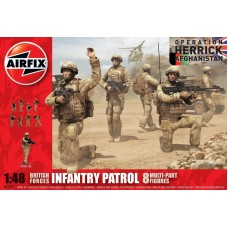 BRITISH PATROL TROOPS 1/48