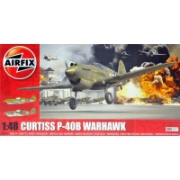 Curtiss P-40B Warhawk 1/48