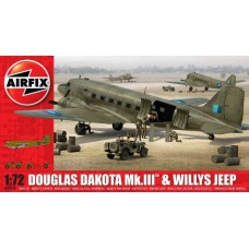 Douglas Dakota Mk.III & Willys Jeep