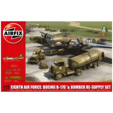 Boeing Fortress Mk.III  Eight Air Force B-17G and Bomber Re-Supply set 1/72