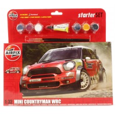 MINI COUNTRYMAN WRC starter set 1/32