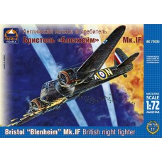 Bristol Blenheim Mk.If night fighter 1/72