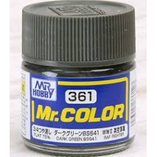 C-361 Dark Green BS641 Mr. Color 10ml. boja
