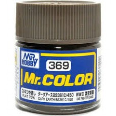 C-369 Dark Earth BS381C/450 Mr. Color 10ml. boja
