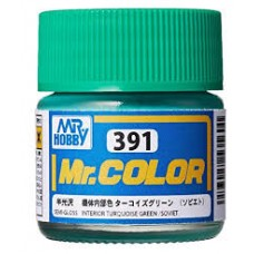 C-391 Interior Turquoise Green Mr.Color 10ml. boja