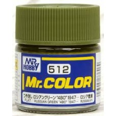 C-512 Russian Green 4BO 1947- Mr.Color 10ml. boja