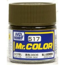 C-517 Brown 3606 Mr.Color 10ml. boja