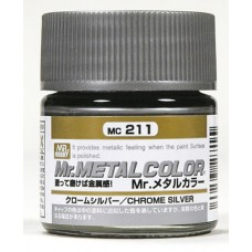 MC-211 Chrome Silver Mr. Metal 10 ml. boja