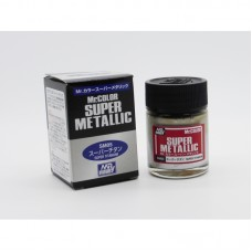 SM-05 Super Titanium Mr. Color Super Metallic solventne akrilne boje 18ml