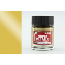 SM-02 Super Gold Mr. Color Super Metallic solventne akrilne boje 18ml