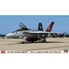 FA18 E Super Hornet VFA-31 Tomcatters 75th special 1/72