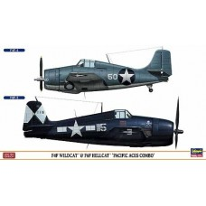 F4F&F6F Pacific Aces Combo (2kits/box) 1/72