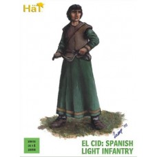 El Cid: Spanish Light Infantry 28mm