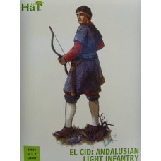 El Cid: Andalusian Light Infantry 28mm