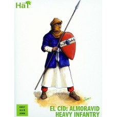 El Cid: Almoravid Heavy Infantry 28mm