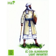El Cid: Almoravid light Infantry 28mm