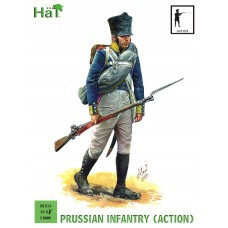 Prussian Infantry Action 28mm x 32kom