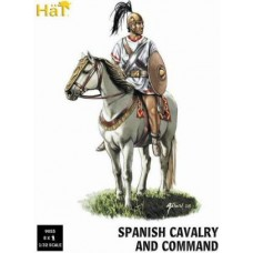 Spanish Cavalry & Command 1/32 x 8kom