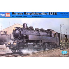 German Dampflocomotive BR86 1/72