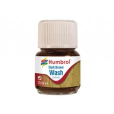 Enamel wash 28ml. dark brown