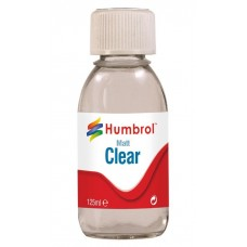 Humbrol CLEAR Matt Varnish 125ml