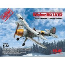 1/32 Bücker Bü 131D,WWII German Training Aircraft