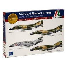 1/72 F-4 C/D/J Phantom II Aces U.S.A.F. - U.S. Navy Vietnam Aces