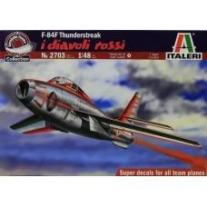 "1:48 F-84F THUNDERSTREAK ""DIAVOLI ROSSI"""