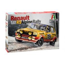 1:24 Renault R5 Alpine Rally