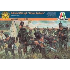1:72 NAPOLEONIC WARS BRITISH 95TH.Rgt.GREEN JACKET