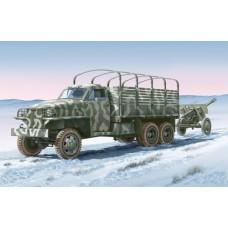 Land lease US Truck & ZIS-3GUN