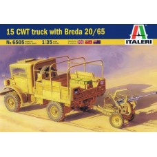 1:35 15 CWT TRUCK WITH BREDA 20/65