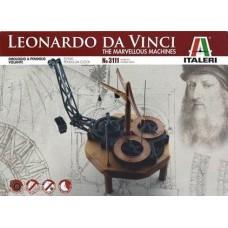Leonardo Da Vinci Flying Pendulum Clock