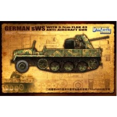 WWII Ger.sWS Cargo Ver. with 3.7 FlaK43