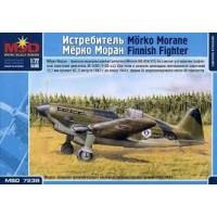 """1:72 """"Mörkö-Morane"""" MM.406 Finnish fighter"""