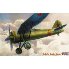 PZL-7 in Soviet hands 1:72