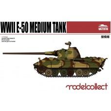 1/72 E-50 Medium Tank with 88mm. gun