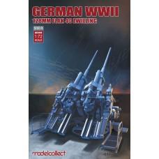1:72 German WWII 128mm Flak 40 Zwilling