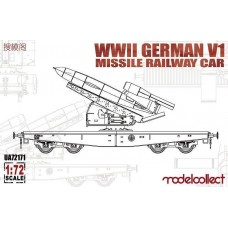 WWII German V1Missile Railway Car 1/72